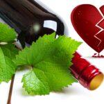 Bottle and broken heart